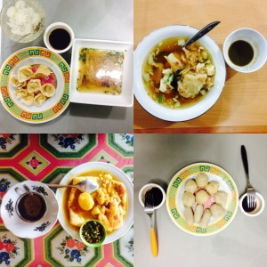 Some of the signature foods of Palembang